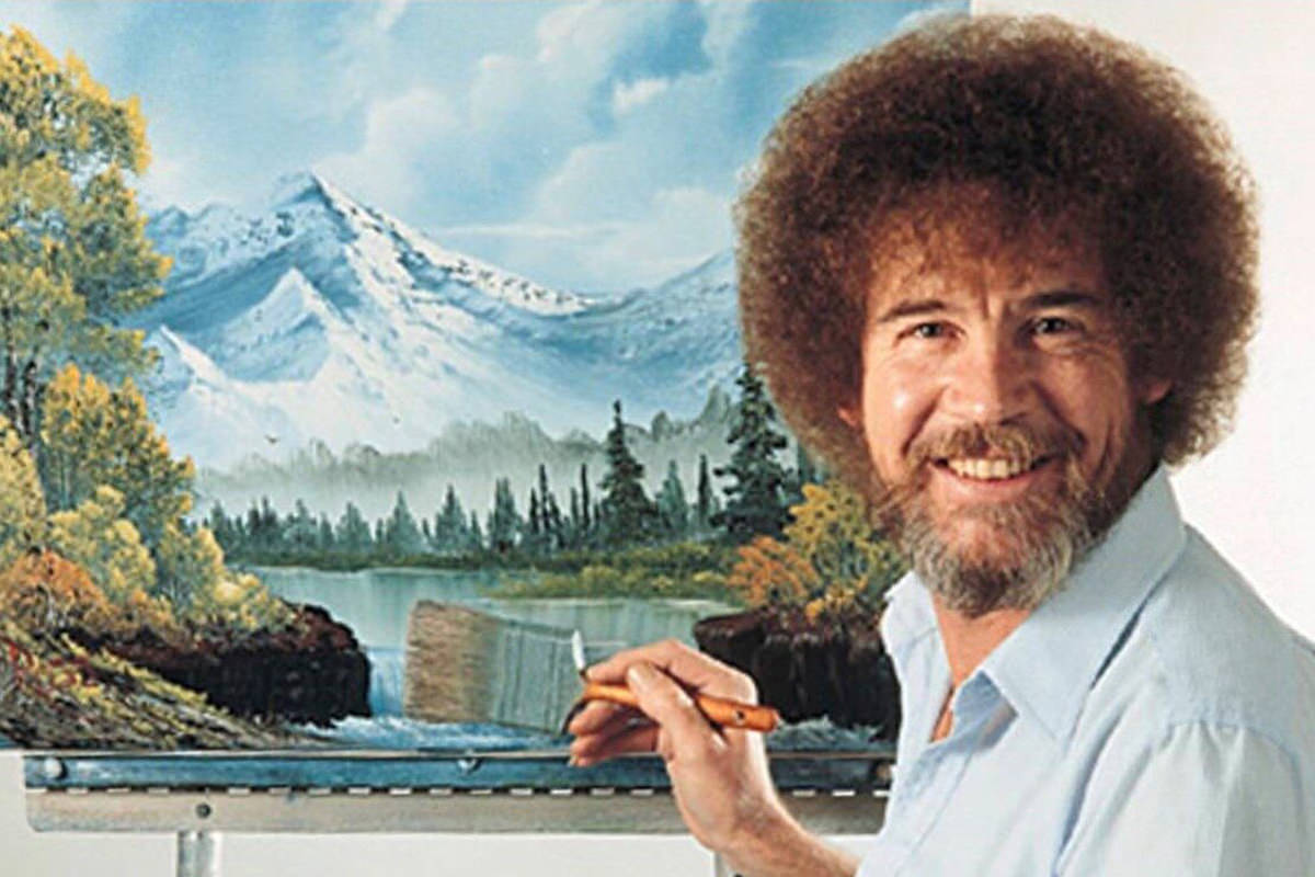 Bob Ross Magical Painting!