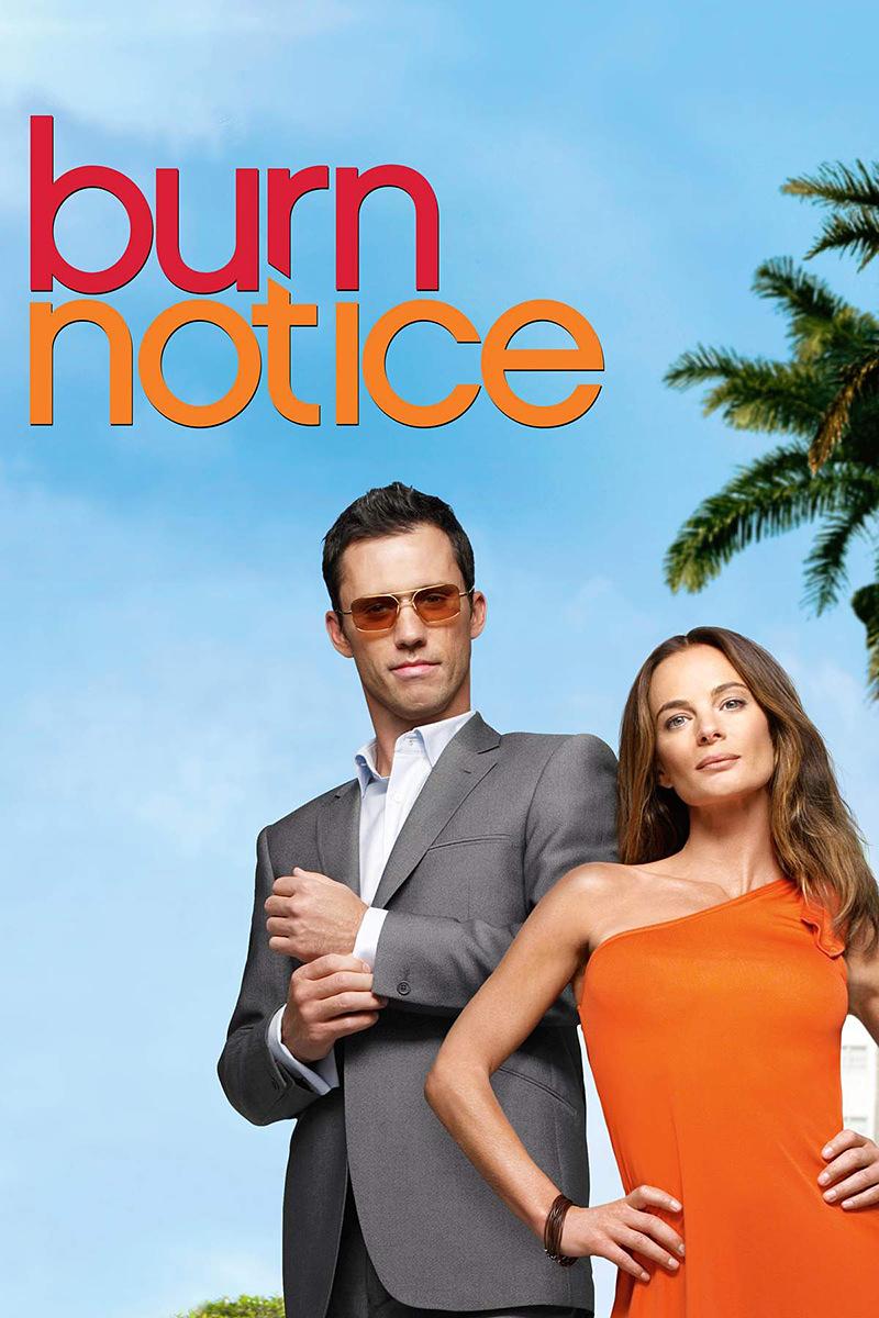 Burn notice movie poster.