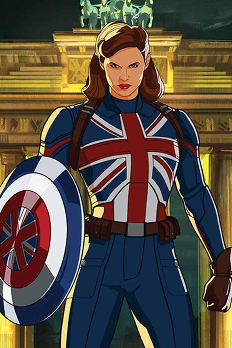 Peggy Carter as Captain Carter