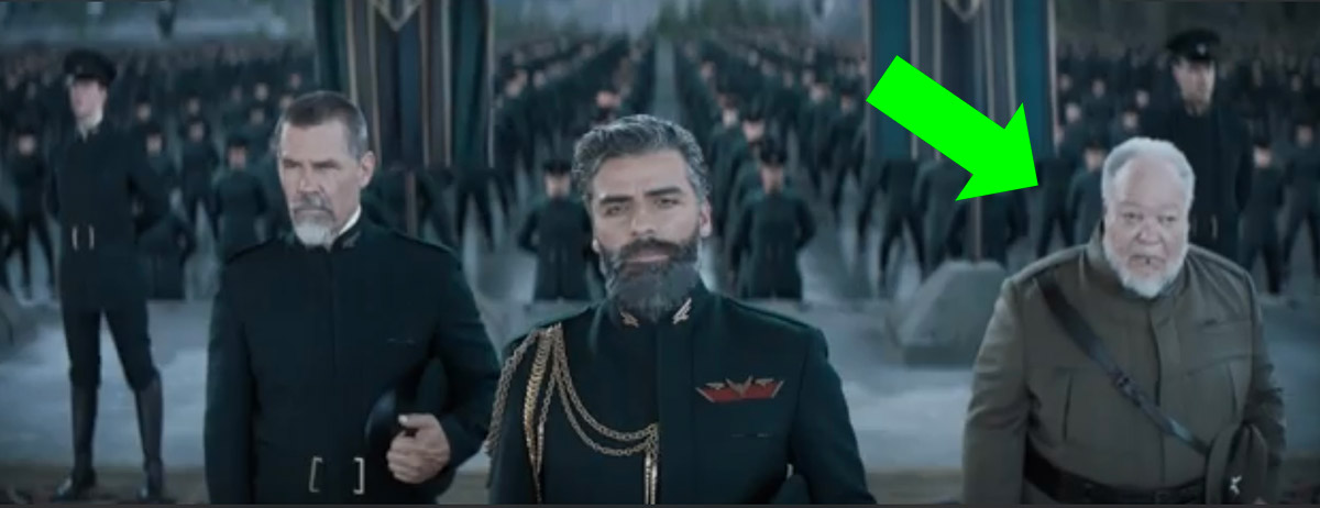 Thufir in the second Dune trailer.