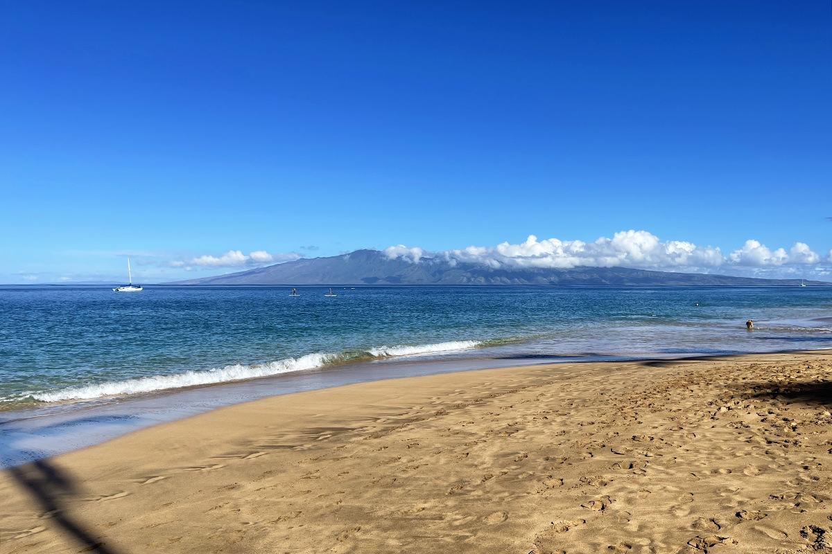 An empty beach morning.