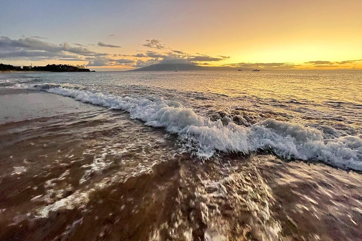 A lovely Maui sunset.