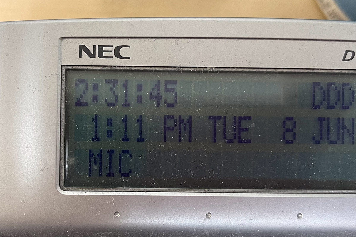 My phone log showing two hours and thirty-one minutes with AT&T assholes.