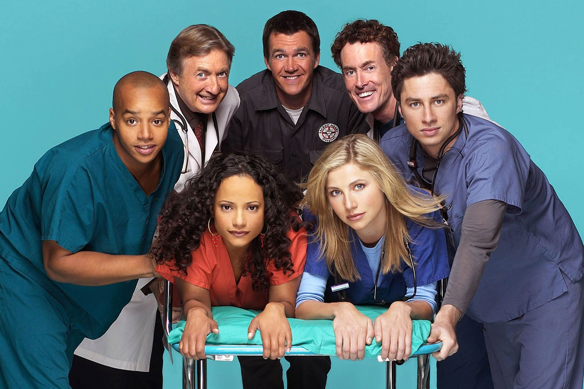 The cast of Scrubs!