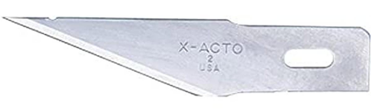 An X-ACTO Blade... Extra Sharp!