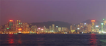 HK Harbor Night