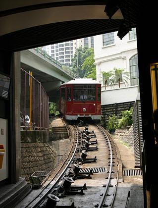 HK Peak Tram